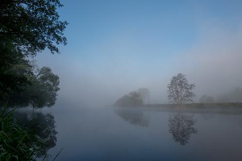 Sunrise 3d Wallpaper Bavarian Beauty River Regen In Bavaria In Morning Light