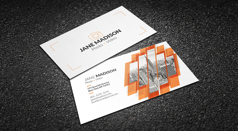 Cool Abstract Photographer Business Card Template Download\u2026 Flickr