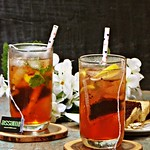 Roohafza Iced Tea
