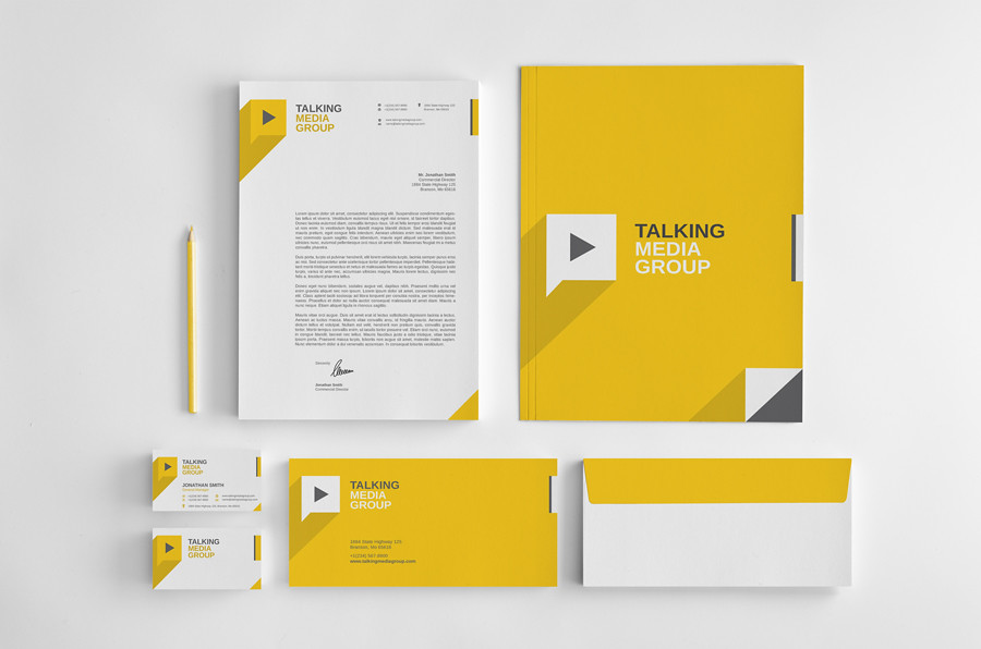 Flat Corporate Stationery vol1 More information and downl\u2026 Flickr