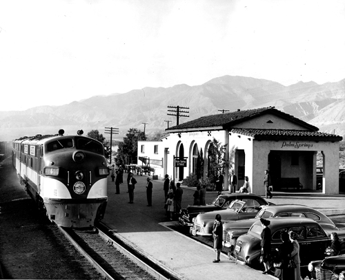 Track Vintage Palm Springs 1949 Southern Pacific Station | A New Train