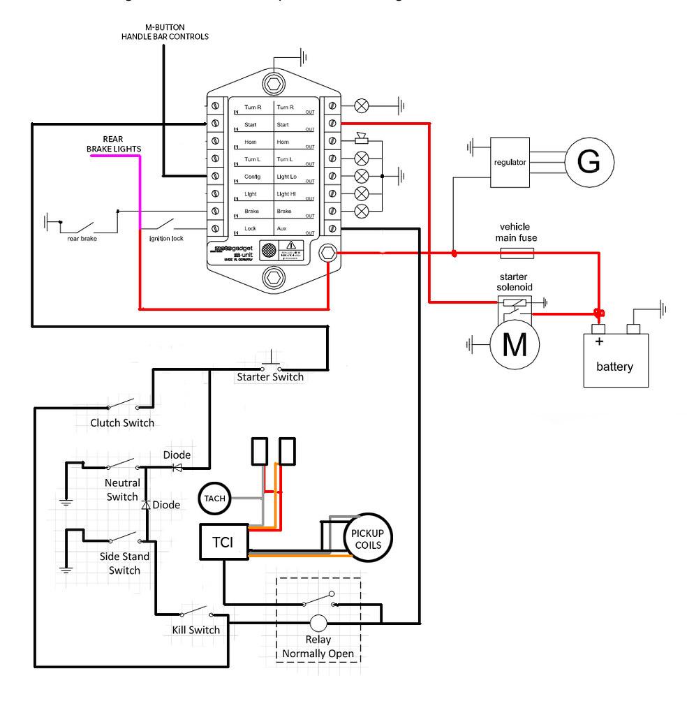 xj650 wiring diagram