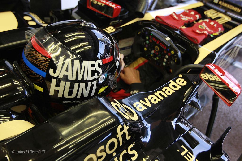 Cool 3d Wallpaper Black Kimi Raikkonen Lotus E20 Monaco Gp 2012 James Hunt Helmet
