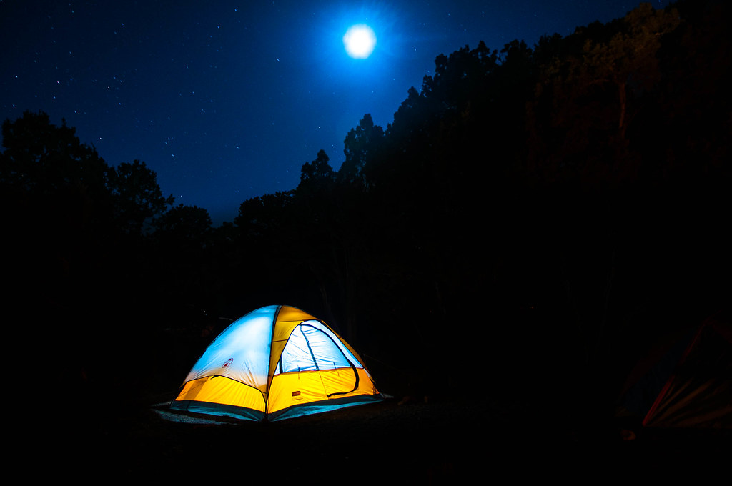 Go Trip Book Camping By Moonlight This Photo Is From Our Trip To