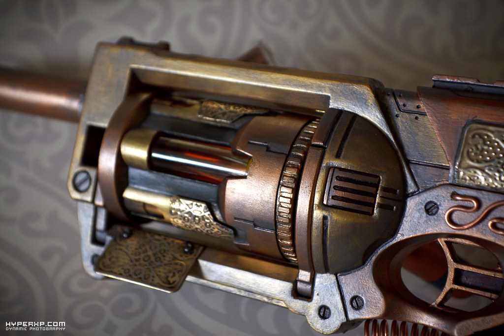 Custom Wallpaper 3d Steampunk Gun 9 Nerf Maverick Tinkspg Please Feel