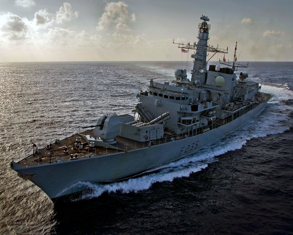 Portland Or Fall Had Wallpaper Royal Navy Type 23 Frigate Hms Monmouth Type 23 Frigate