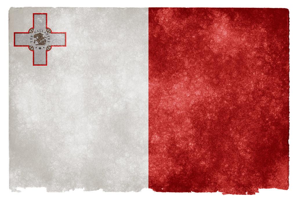 New 3d Wallpaper For Mobile Malta Grunge Flag Grunge Textured Flag Of Malta On