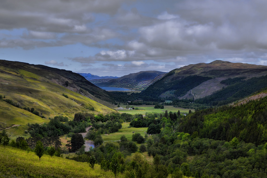 Scenery Wallpaper Hd 3d Lael Forest Scottish Highlands Taken From The Road To