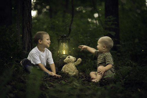 Camera Girl Wallpaper Brothers Catching Fireflies My Two Boys Having Fun