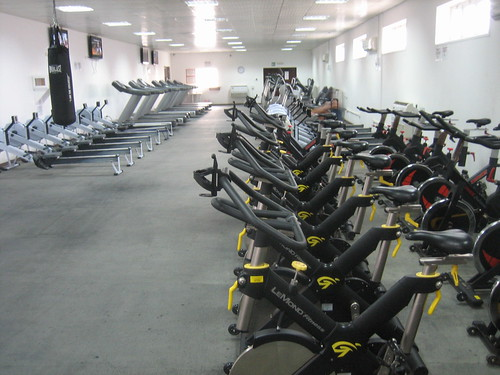 Gym 3d Wallpaper Cardio Room Of The North Camp Gym This Place Was The