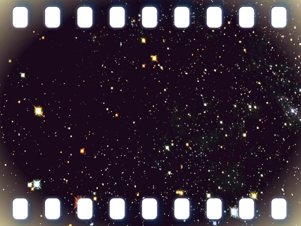 3d Wallpaper Images Free Download Film Strip Framed Outer Space Texture 001 Film Strip