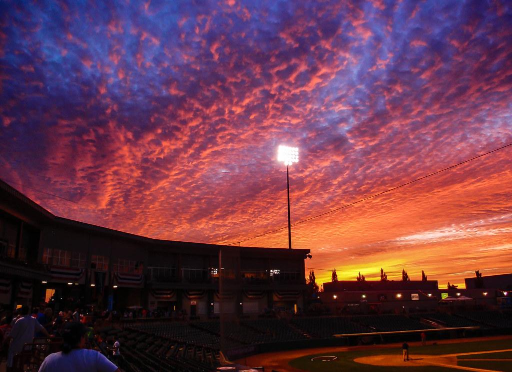 Wallpaper Sunset 3d Sunset At Bruno Baseball Stadium 1 Of 1 John Quot Mike