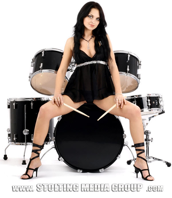 Drum Set Wallpaper Hd Sexy Drum Girl Stolting Media Group Sexy Drum Girl