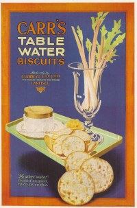 Carr's Table Water Biscuits - poster issued by Carr & Co L ...