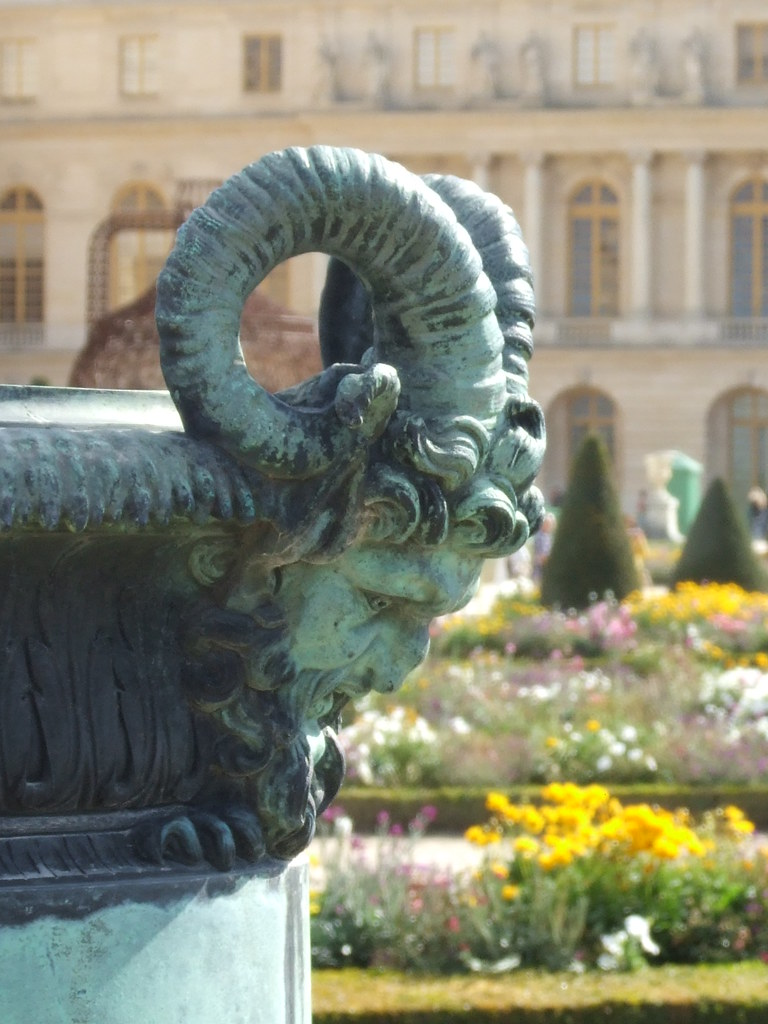 Decoration Parterre Garden Ram Decoration In The Parterre Du Midi The South G Flickr