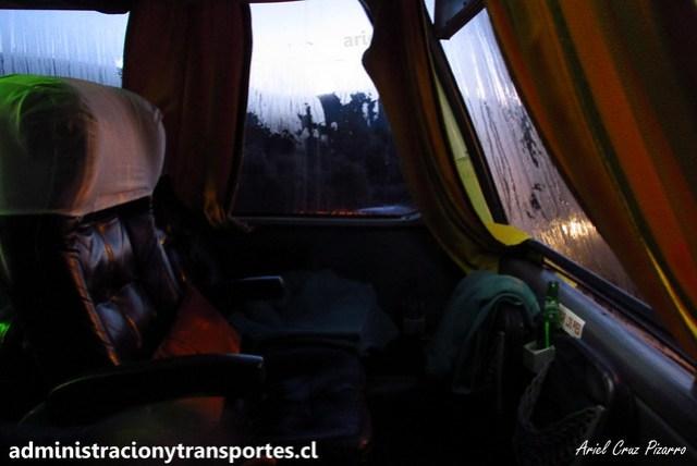 Asientos panorámicos Buses Liquiñe