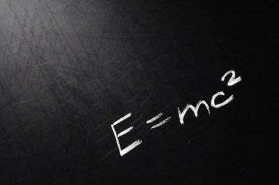 E=mc2 | Conceptual phrase written on school board by chalk. … | Flickr