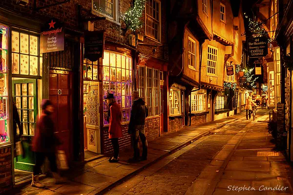 Real 3d Wallpaper Hd Night Time Shopping In The Shambles Join Me At Stephen