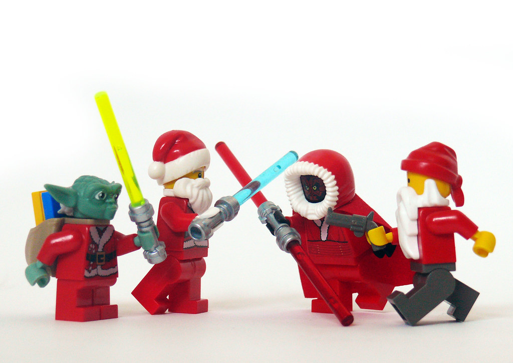 3d Wallpaper Star Wars Santa Wars There Can Only Be One Okay Yaramanoglu