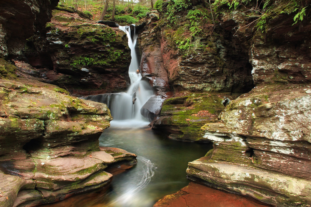 1080p Fall Wallpaper Adams Falls 1 Ricketts Glen State Park Luzerne County