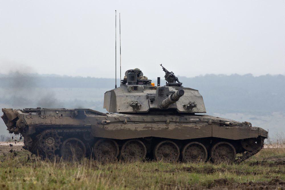 3d Wallpaper Gyro Challenger 2 Tank A Challenger 2 Main Battle Tank Is