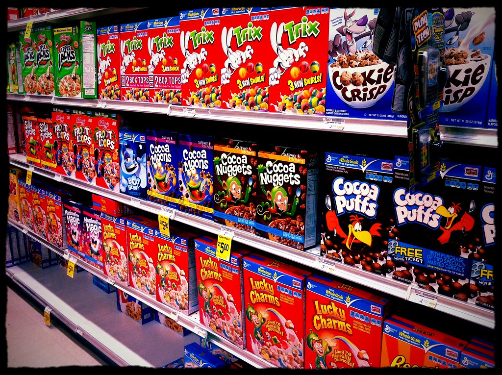 It39s Been A Long Time Since I39ve Seen Cereal Boxes En Mass