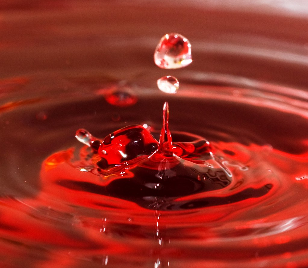 3d River Wallpaper Red Water Drops Rich F28 Flickr