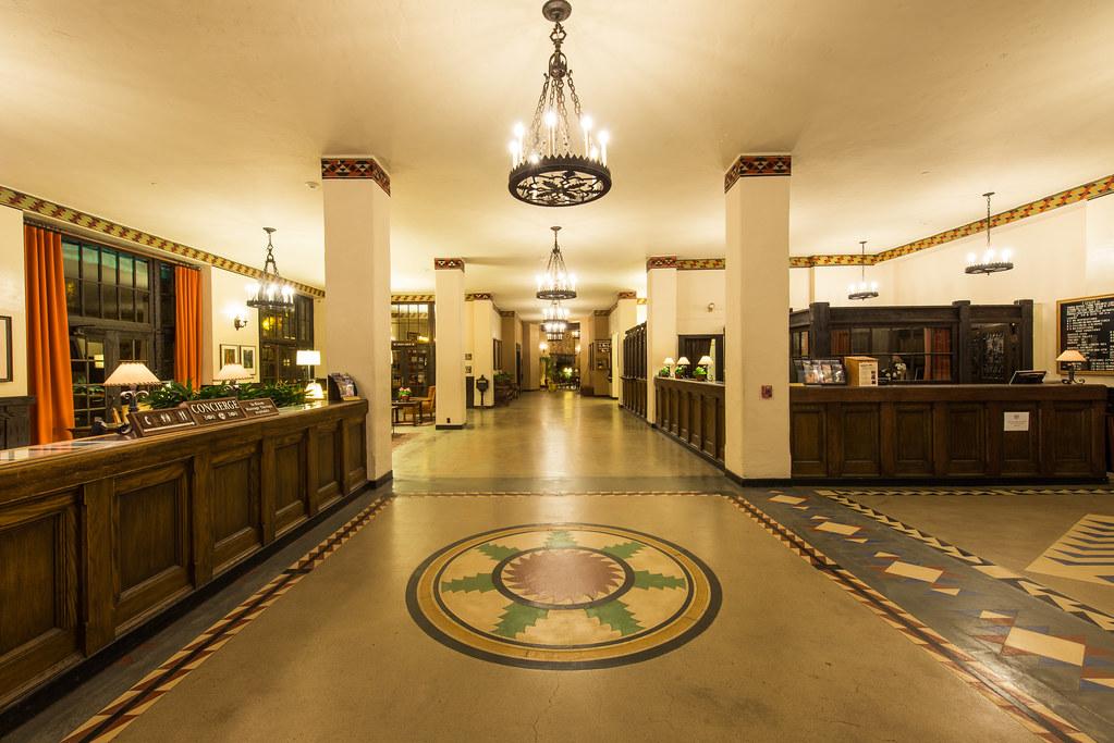 Illusion Wallpaper 3d The Overlook Hotel Lobby The Ahwahnee Hotel Yosemite Nat
