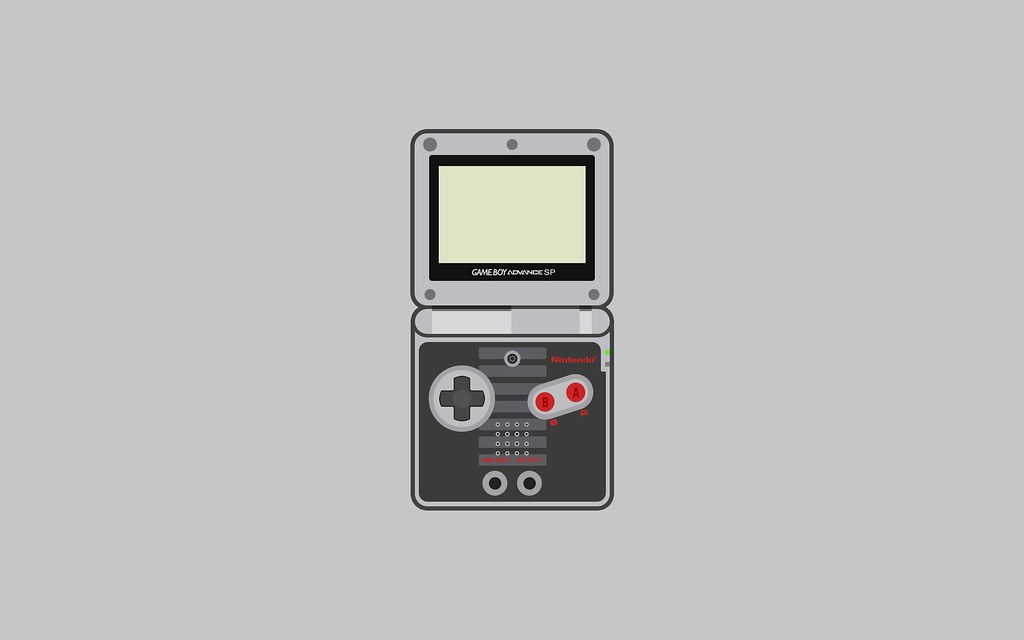 3d Anaglyph Wallpapers Free Download Nintendo Game Boy Advance Sp Wallpaper Nes Special Editi