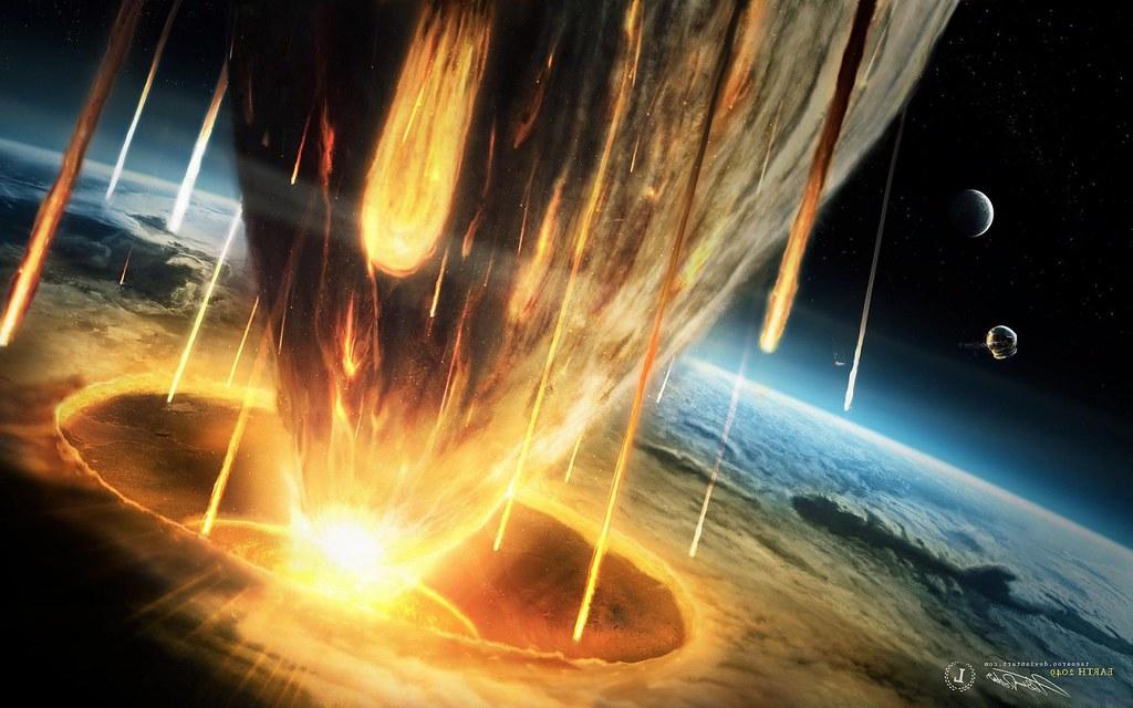 Dragon Wallpaper 3d Hd Miscellaneous Digital Art Hd Destruction Asteroid 1800x288