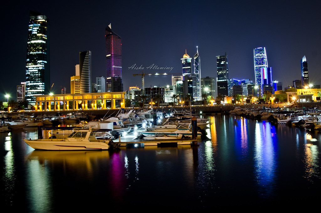 Bing 3d Wallpapers Kuwait City Night View Aisha Altamimy Flickr