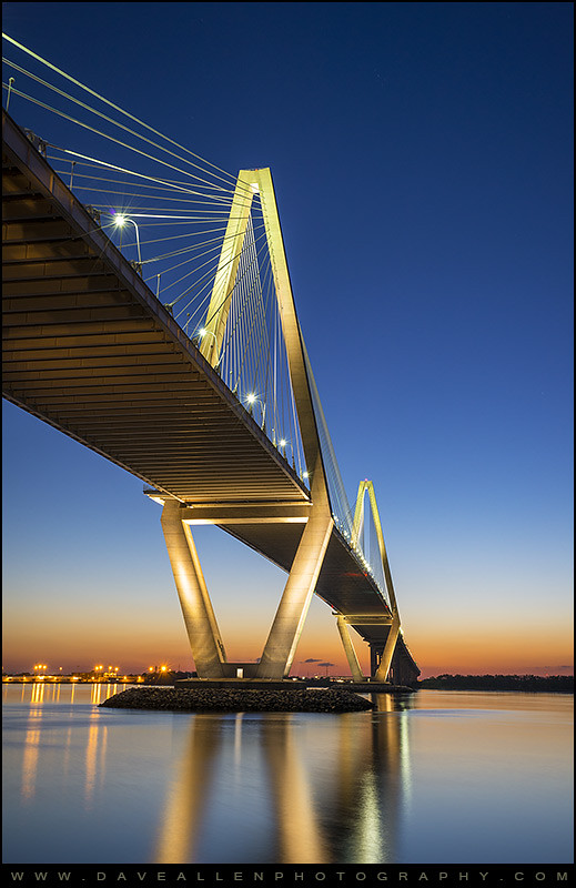 3d Name Wallpapers R Charleston Sc Arthur Ravenel Jr Bridge At Sunset