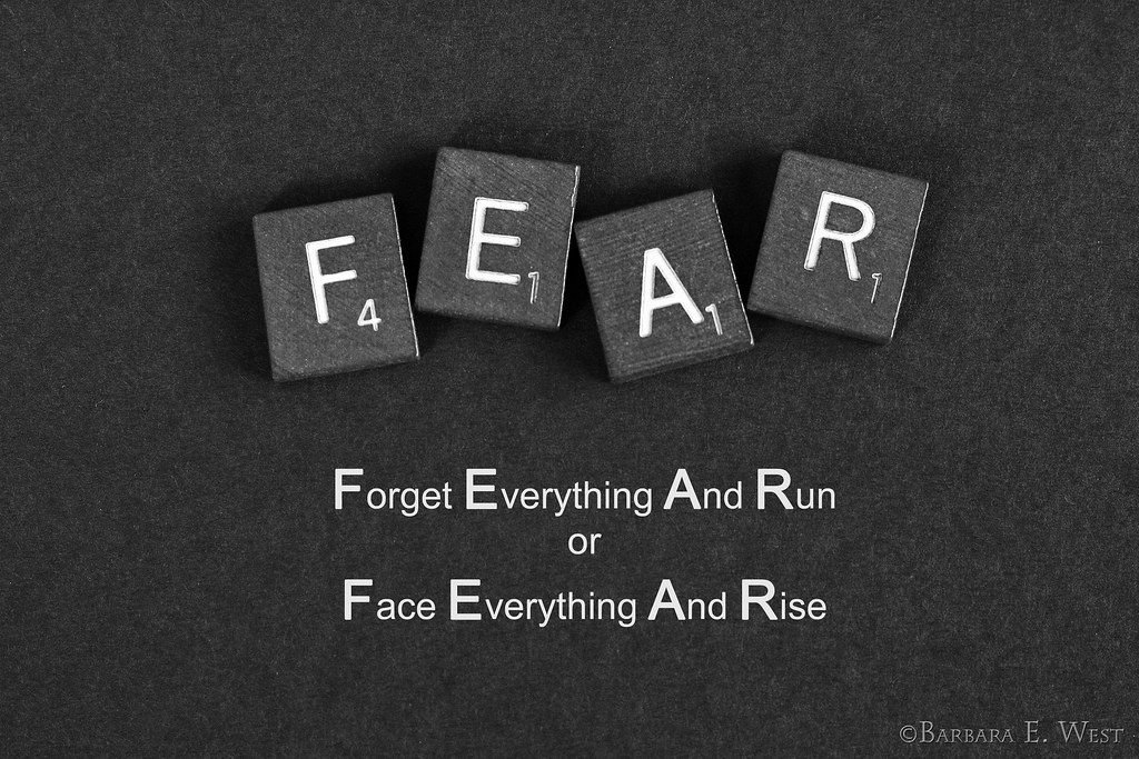 Deco Wallpaper 3d Fear Forget Everything And Run Or Face Everything And