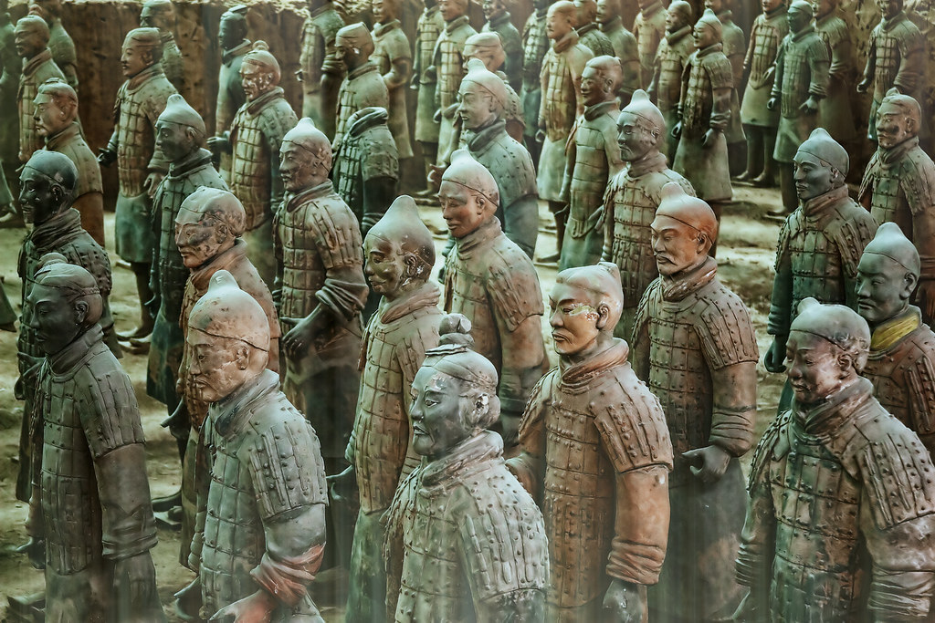 3d War Wallpaper Terracotta Warriors From My Trip On 2006 To China This