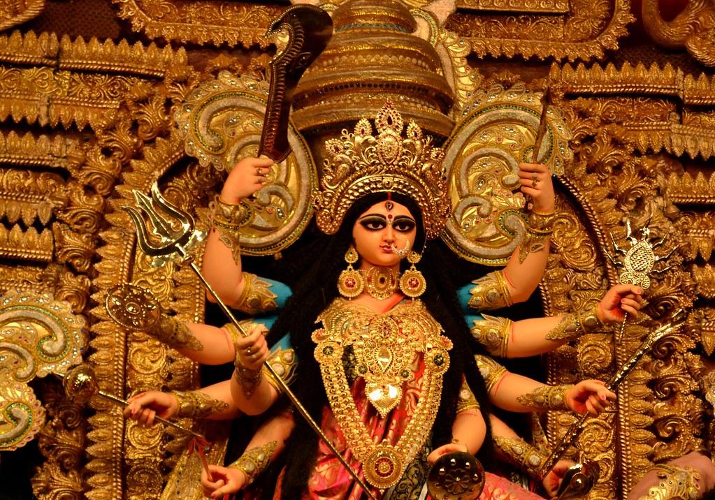 Maa Saraswati 3d Wallpaper 2013 Durga Puja 2013 Sreebhumi Sporting Club Kolkata