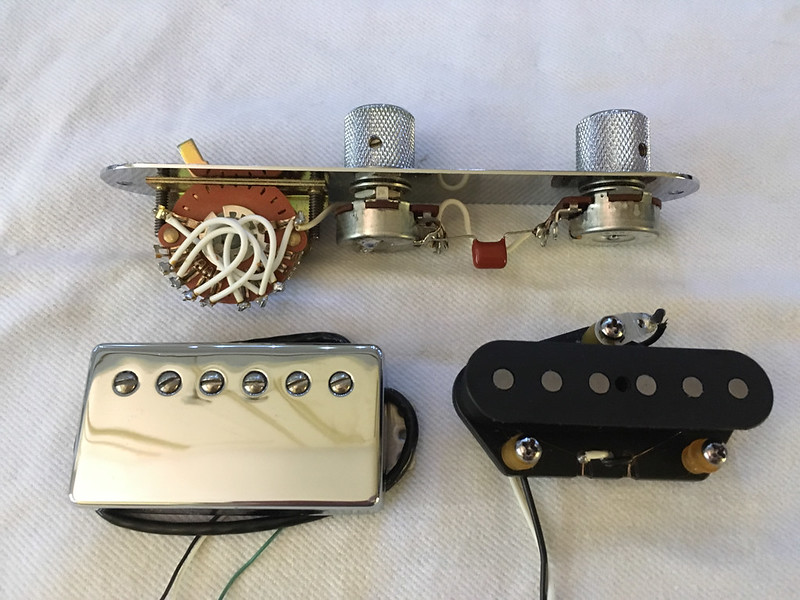 Sold - Fender US Fat Strat wiring harness and pickups The Gear Page