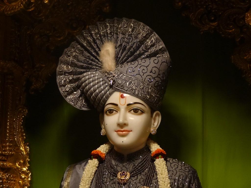 Ghanshyam Maharaj Wallpaper Hd Lord Ghanshyam Maharaj Mumbai Baps Mandir Anand Dhakan