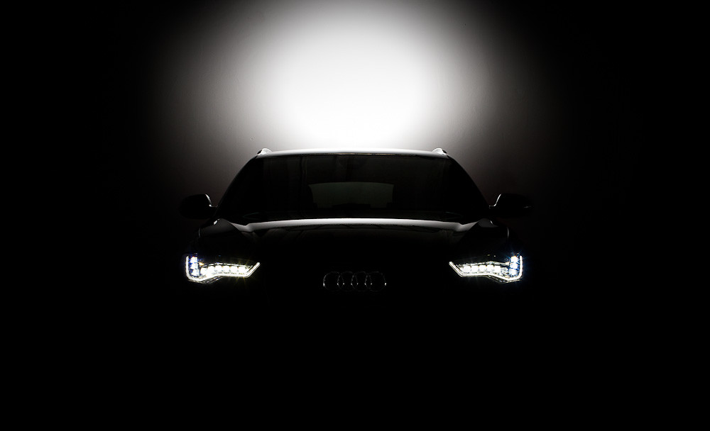 Black And White Wallpaper Hd Audi A6 2012 Led Black 2012 Audi A6 With Led Headlight