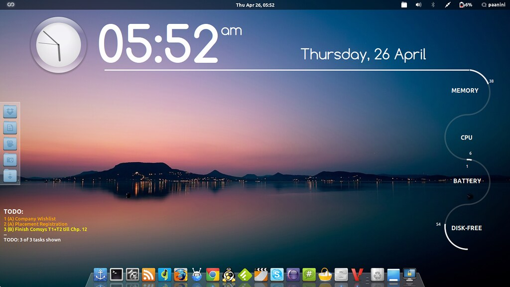 3d Wallpaper Home Screen My Arch Linux Setup With Gnome Shell I Ve Used Two