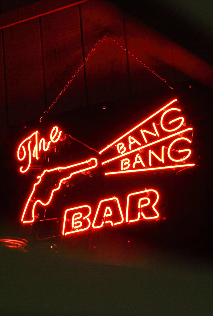 3d Wallpaper Fire The Bang Bang Bar A Neon Quot Bang Bang Bar Quot Sign Outside Of