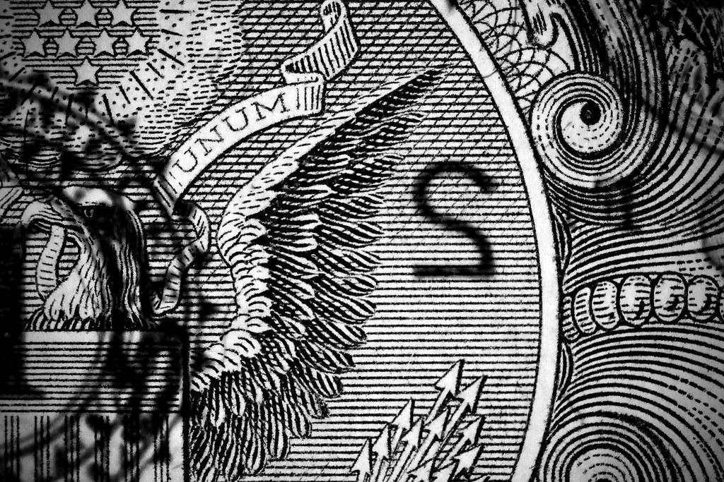 All Black Wallpaper Money Money Money Money Close Up Us 1 Bill