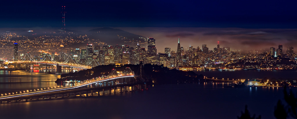 3d Wallpaper New York City Grizzly Peak Peek A Pano From The Berkeley Hills Above