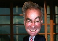 Tim Kaine - Caricature | Signature Eyebrow Version Timothy ...