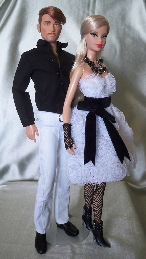 Baby Dolls Pics Power Couple Ooak Barbie And Ken Giftset By Matt Trujil