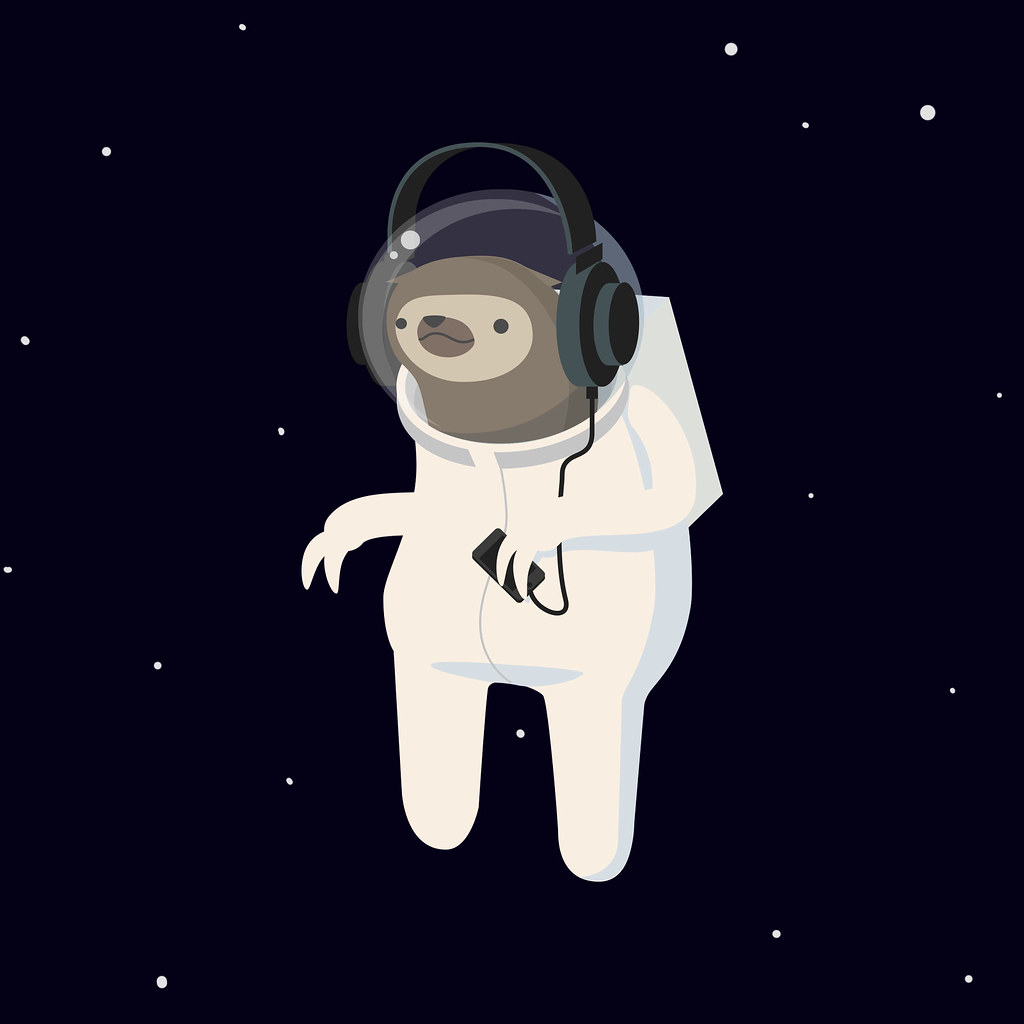 Sloth Wallpaper Cute Space Sloth An Image From Our New Site Morph Studio