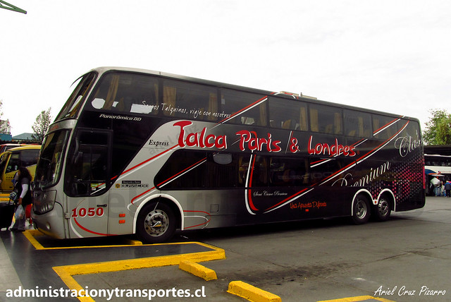 Talca París & Londres | Santiago | Busscar Panorâmico DD - Mercedes Benz / BDHB33 - 1050
