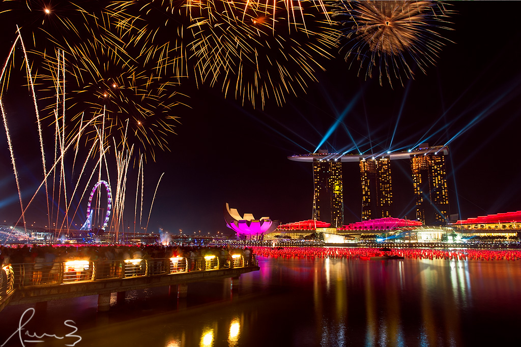 3d Wallpaper Singapore New Year Fireworks 2013 Marina Bay Sands Singapore Flickr
