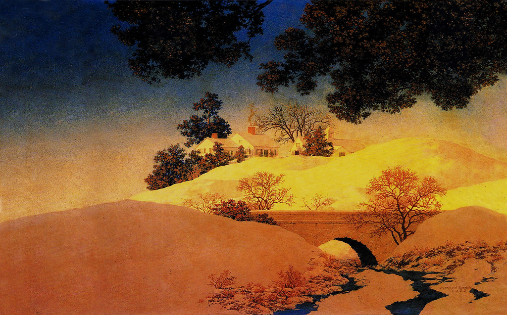 Hd Wallpapers O Computer Wallpaper Format Maxfield Parrish Sunlight 19