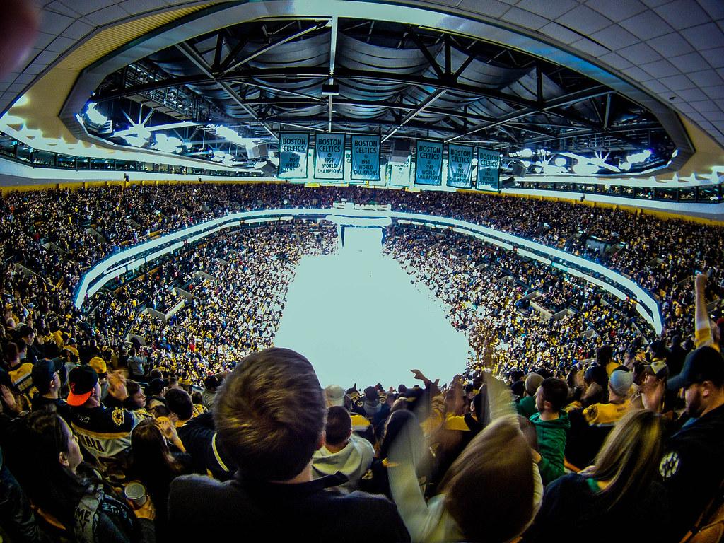 Boston Hd Wallpaper Fish Eye Distortion In Td Garden Boston Bruins 17 565