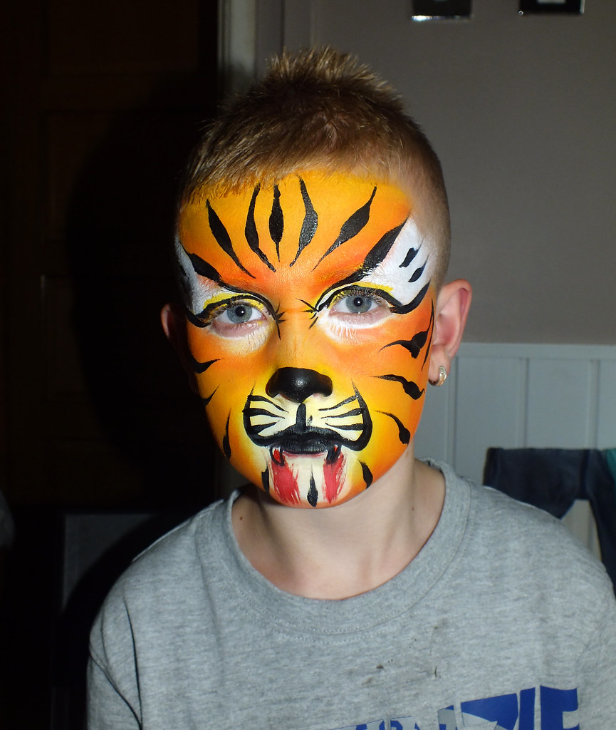 Kinderschminken Tiger Tiger Face Painting Some Faces I Have Painted Over The Las